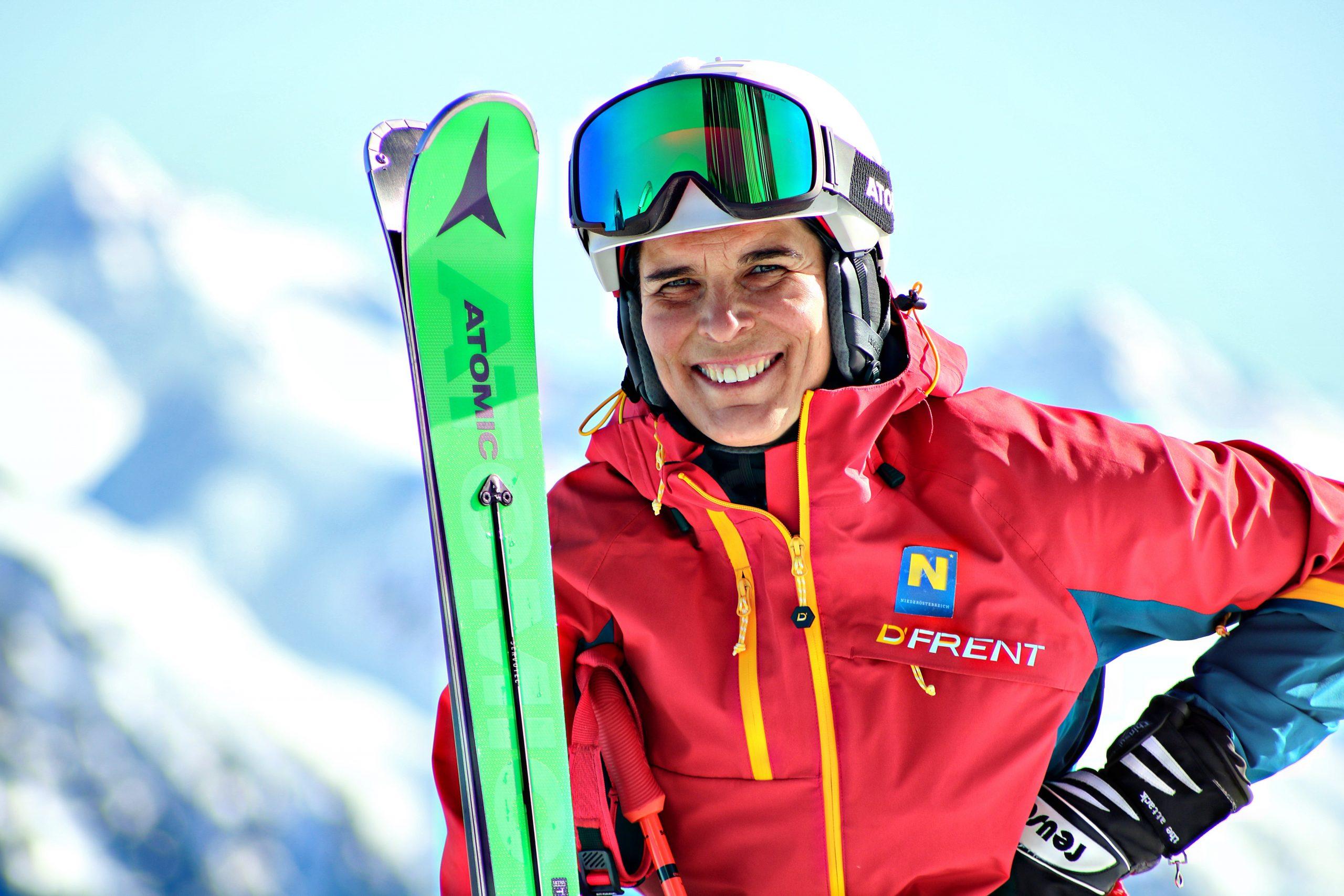 Michaela Dorfmeister Ski Skitag